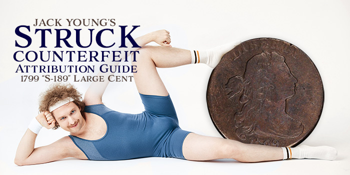 Jack Young Struck Counterfeit Attribution Guide 799 S-189 - Counterfeit Coin