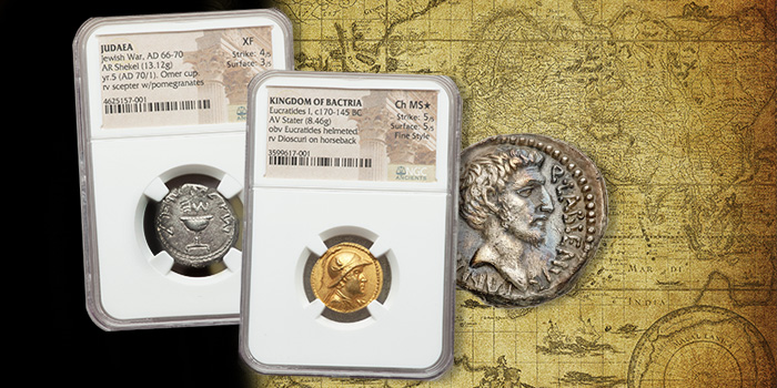 Heritage Auctions Ancient Coins - Jewish Coins - Roman Coins
