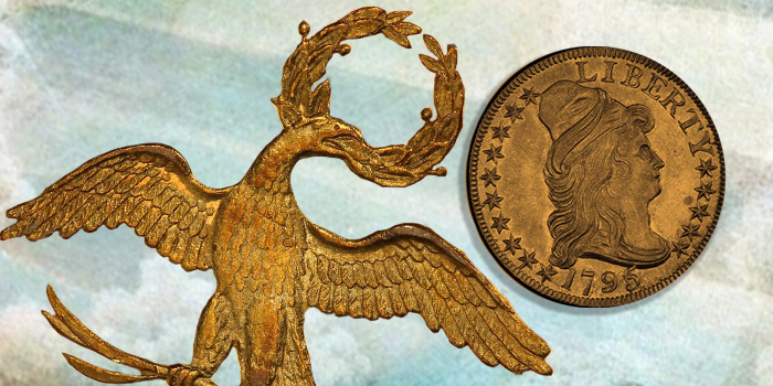 Small Eagle Half Eagle Early American Gold Coin