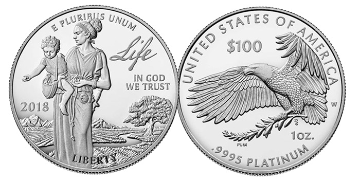 2018 U.S. Platinum Proof Coin