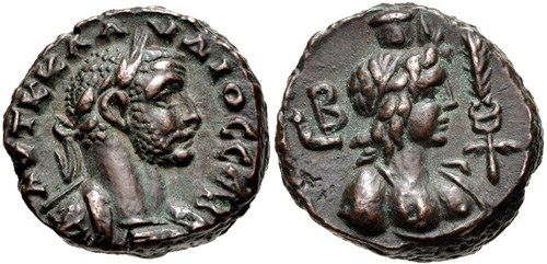 Billon tetradrachm of Claudius II Gothicus, NGC Ancients