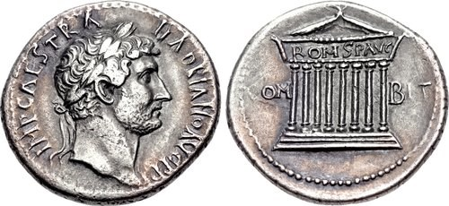 Cistophorus with portrait of Hadrian, NGC Ancients