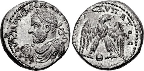 Edessa tetradrachm with portrait of Macrinus, NGC Ancients
