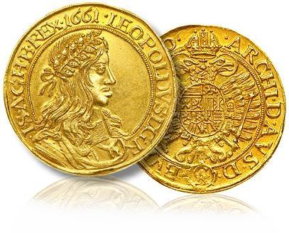 5 Ducat 1661 Vienna