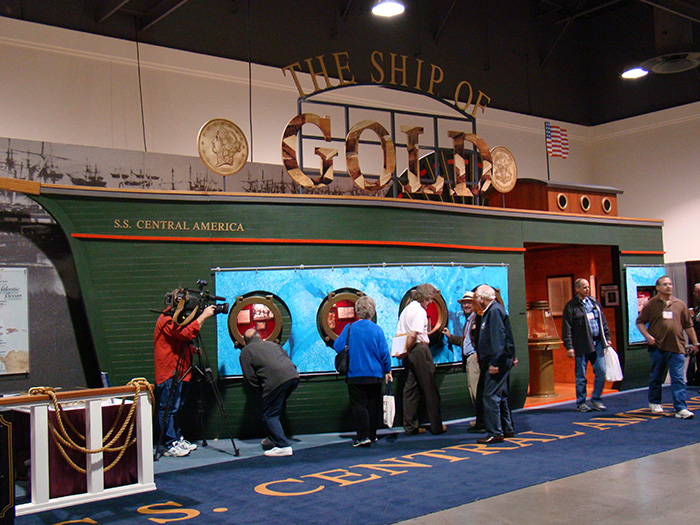 Ship of Gold - SS Central America Treasure - Long Beach Expo