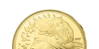 Obverse, France 2017 Marianne - Liberty 1,000 Euro Gold Coin. Image courtesy Monnaie de Paris
