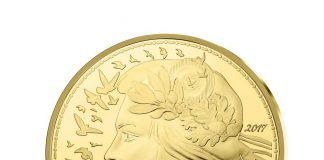 Obverse, France 2017 marianne 5,000 Euro Gold Proof Coin. Image courtesy Monnaie de Paris
