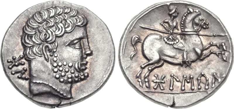 A denarius of Bolskan. Images courtesy CNG, NGC