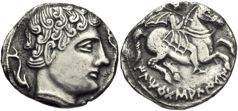 A denarius of Ilerda. Images courtesy CNG, NGC