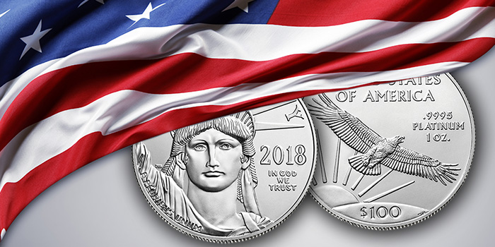 2018 United States Mint Platinum Eagle