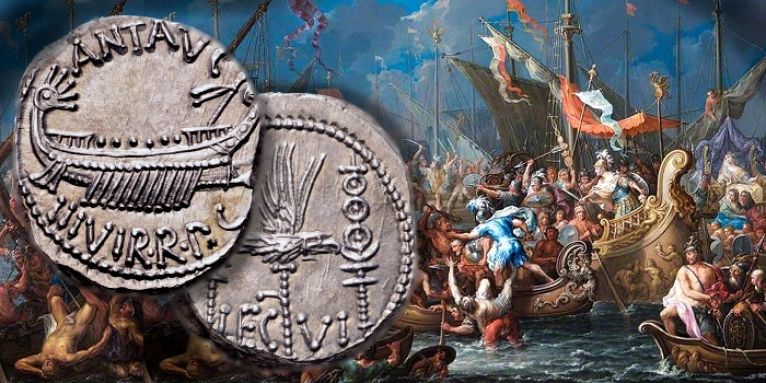CoinWeek Ancient Coin Series - Mark Antony's Legionary Denarius