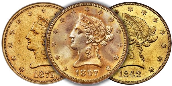 Admiral Collection Ten Dollar Gold Highlights Heritage Auction Long Beach