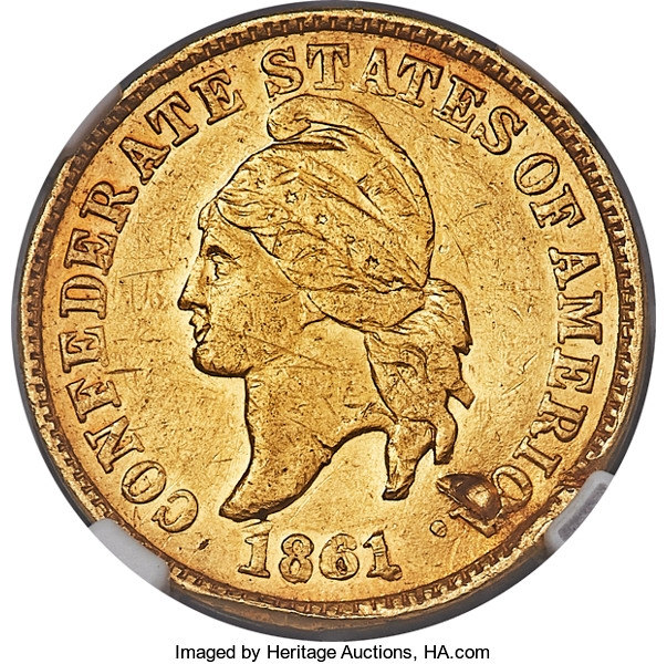 Gold Confederate Cents