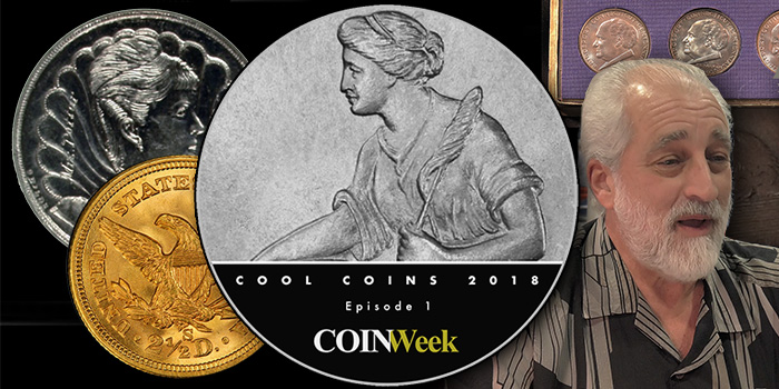 Cool Coins! 2018 Episode 1. Amazing Mint Errors, Shipwreck Gold, and More!