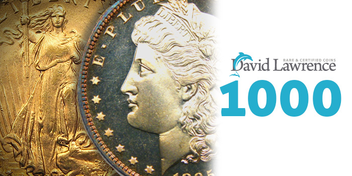 David Lawrence Rare Coins Auction 1000