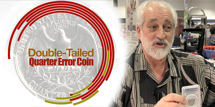 Fred Weinberg Discusses the Double-Tailed Washington Quarter Dollar Error