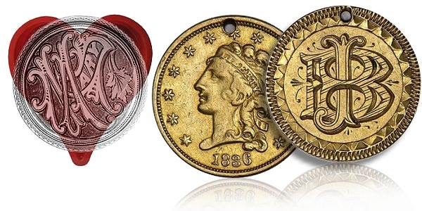 Interesting Coins - A Love Token on Valentine's Day