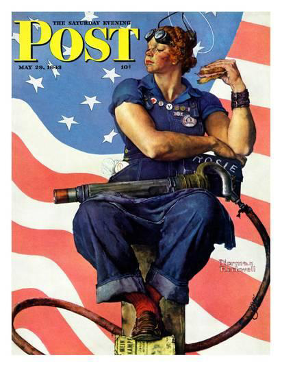 Norman Rockwell, Rosie the Rivater