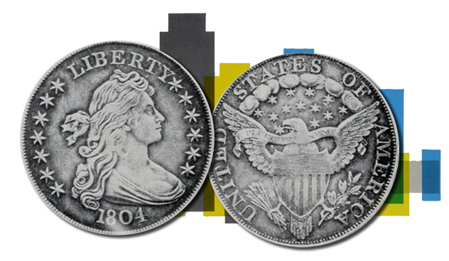 Coulton 1804 Dollar - Image: Stack's