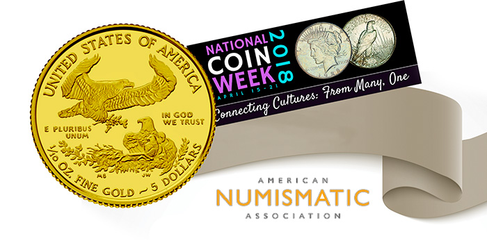 American Numismatic Association 2018 National Coin Week