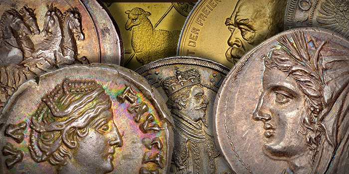 Atlas Numismatics March 2018 - Ancient Coins - World Coins