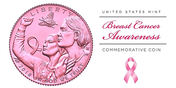 Breast Cancer Awareness Coins