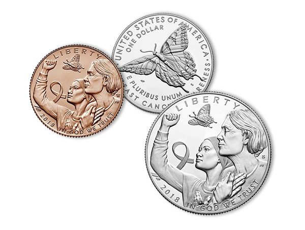 Breast Cancer Commemorative Coins - U.S. Mint
