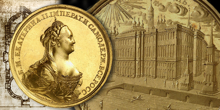 Catherine the Great, Künker Auctions - Gold Medal