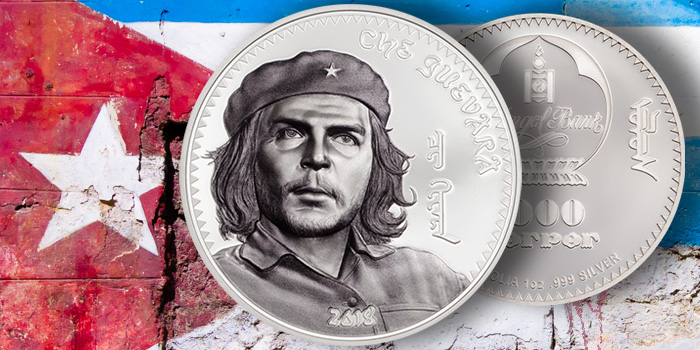 Che Guevara Coin Invest Trust silver coin