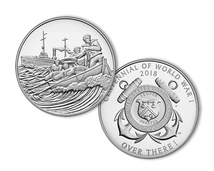 U.S. Mint's Coast Guard Medal has the lowest sell-through rate so far...