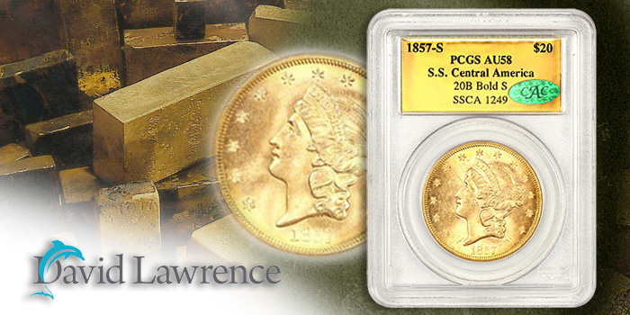 David Lawrence Rare Coins Auction 1007 - SS Central America