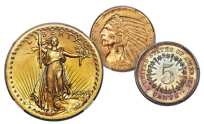 Heritage Auctions March 2018 US Signature Coin Auction
