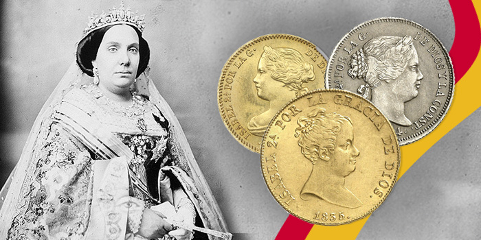 counterfeit coins of Queen Isabell II. Which are real, which are fake?
