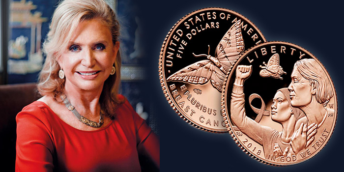 Congresswoman Carolyn B. Maloney (NY-12) - Breast Cancer Awareness Commemorative Coin