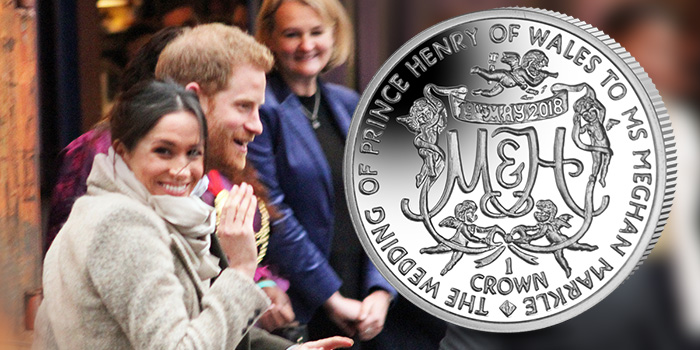 Meghan Markle and Prince Harry - Pobjoy Mint Wedding Coin