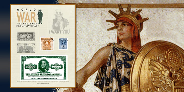 Bureau of Engraving and Printing World War I bonds