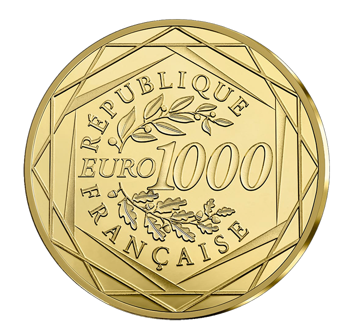 France 2018 Marianne - Gold Coin Reverse - World Coin