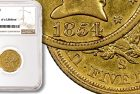 NGC Confirms Discovery of Fourth Known 1854-S $5 Half Eagle Gold Coin