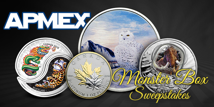 APMEX - Monster Box Sweepstakes - Royal Canadian Mint