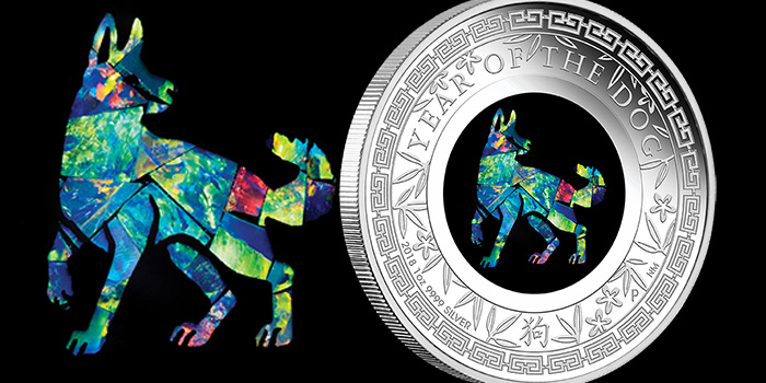 Opal - Year of the Dog - Perth Mint
