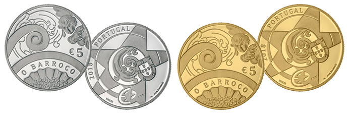 Central Bank of Portugal: Europa Star Series: Baroque - World Coin News
