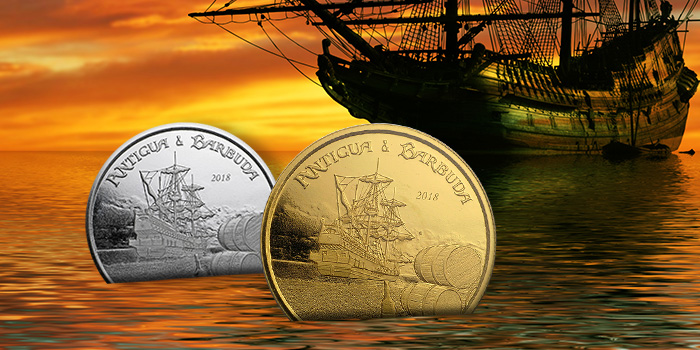 Pirate Themed Coins from Apmex