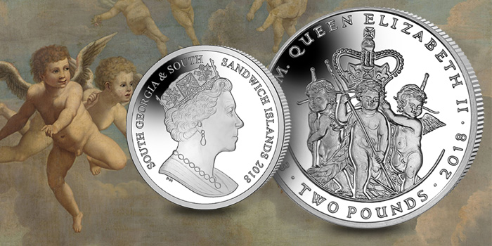 South Georgia & South Sandwich Islands - 2018 Two Pounds Silver Coin - Queen Elizabeth II