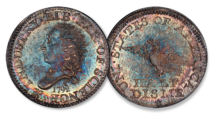 1792 Half Disme - World's Fair of Money