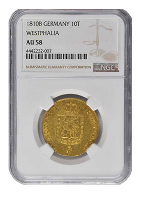 1810B Germany 10T Westphalia AU58