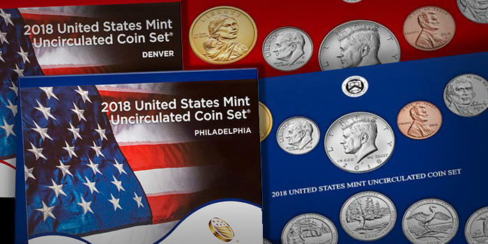 2018 United States Mint Uncirculated Coin Set