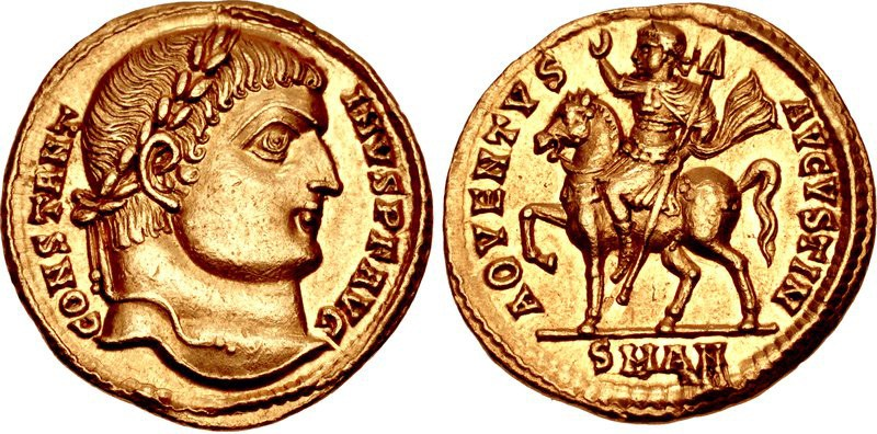 """Solidus of Constantine I """"The Great"""""""