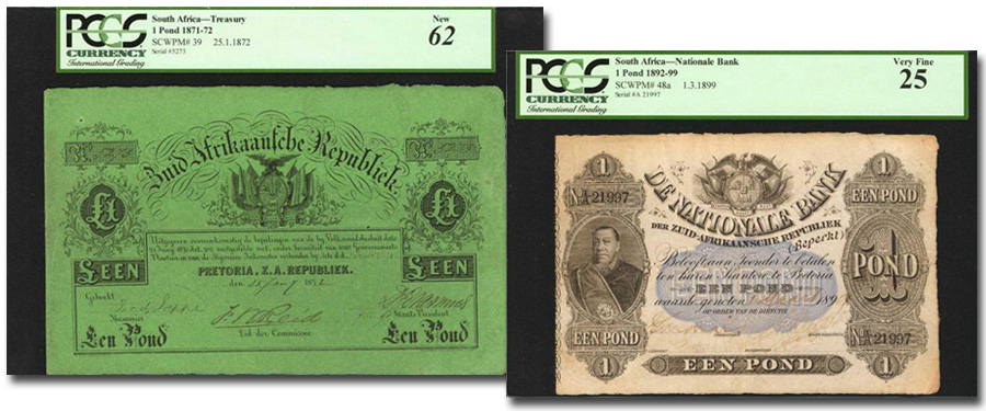 South African paper money highlights of Stack's Bowers Galleries May 2018 Collectors Choice Online Auction