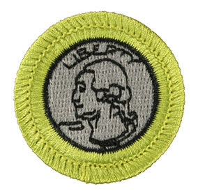 Boy Scouts of America Coin Collecting Merit Badge