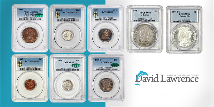 David Lawrence Rare Coins - Auction 1013